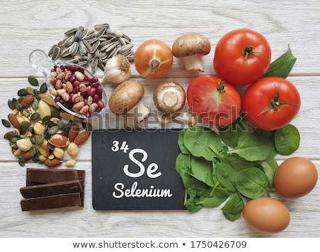 Healthy product sources of selenium. Stock photo © furmanphoto