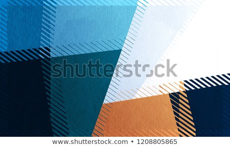 Colorful Blocks Combined on White Background Stock photo © make