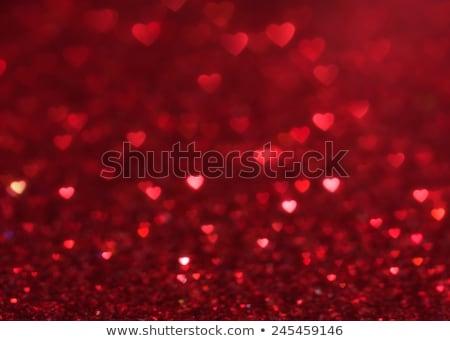 Noel yeni yıl sevgililer günü kırmızı soyut Stok fotoğraf © Anneleven
