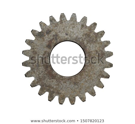 Rusty cogwheels background Stock photo © orson