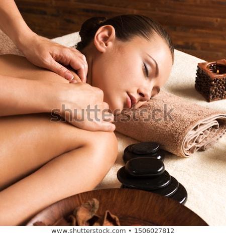 Pampering body Stock photo © Novic