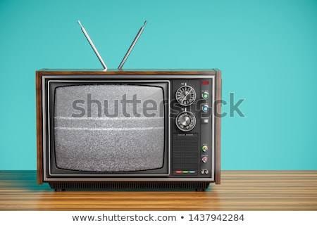 Old Television Stock photo © cidepix
