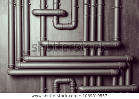Steel wall and pipes | Background Stock photo © zakaz