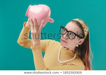 Stock photo: Loss And Profit Check Boxes