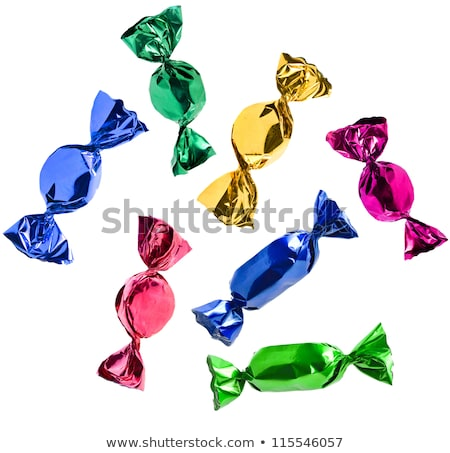 green candy wrapped in foil Stock photo © jirkaejc