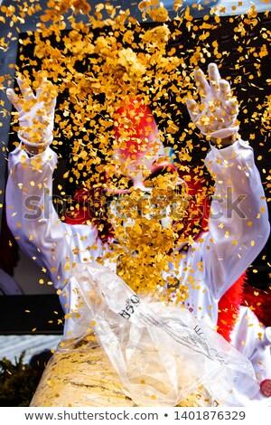 carnaval · maskers · confetti · veren · verschillend · kleuren - stockfoto © broker