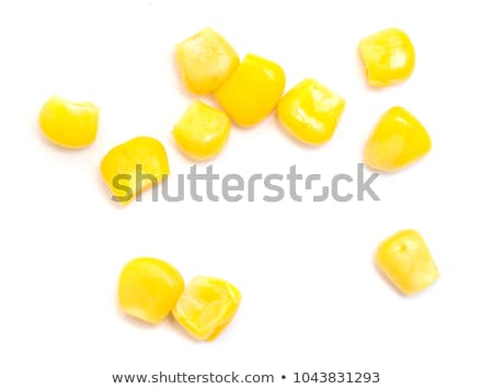 Stock photo: Macro view of corn cob