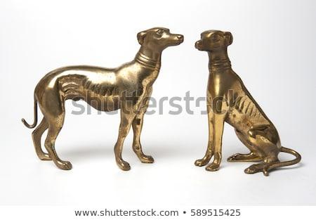 Dog statue Stock photo © cla78