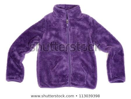 Warm purple sweater fluffy material. Stock photo © RuslanOmega