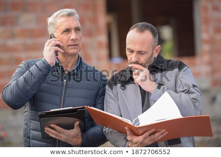 an architect and his plumber stock photo © photography33