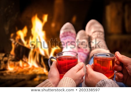 Couple at a ski lodge Stock photo © photography33