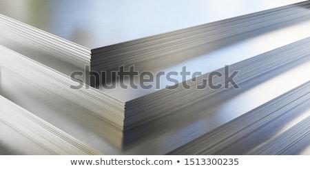 metal · almacén · carga · puerto · textura · azul - foto stock © Alenmax