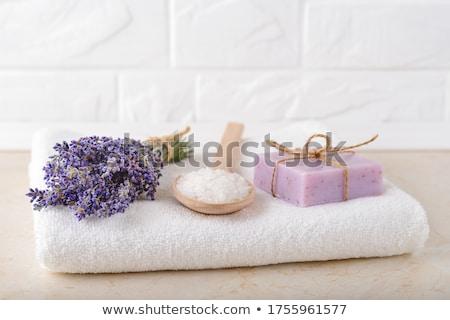 fragante · naturaleza · salud · blanco · lavanda · púrpura - foto stock © Masha