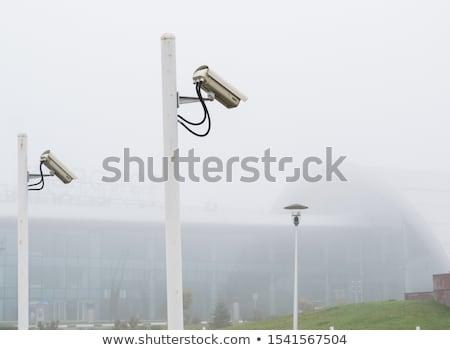 камеры · безопасности · полюс · 3d · визуализации · безопасности · камер - Сток-фото © Florisvis