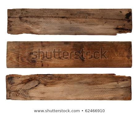 dekoratif · eski · ağaç · ahşap · plaka - stok fotoğraf © pterwort