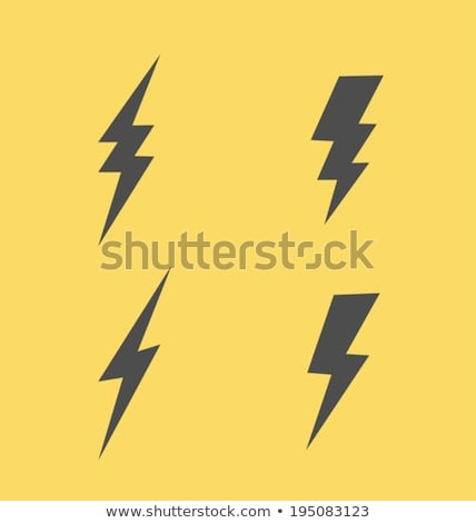 Lightning Bolts Vector Stock photo © ArenaCreative