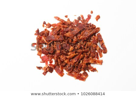 bacon bits Stock photo © zkruger