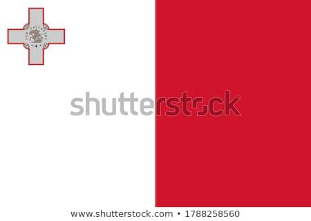 Flag of Republic of Malta Stock photo © 5xinc