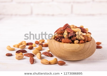 nuts walnut and hazelnut stock photo © m-studio