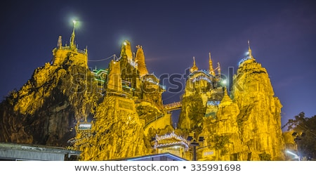 Pagoda birmania Myanmar oro arquitectura Foto stock © mdfiles
