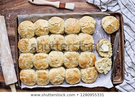 Country Fresh Biscuits Stock photo © songbird