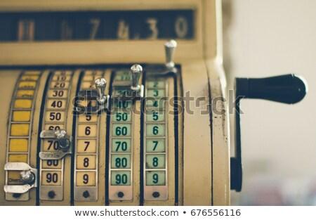 vintage money till Stock photo © epstock