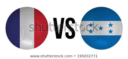 Frankrijk vs Honduras groep fase wedstrijd Stockfoto © smocker03