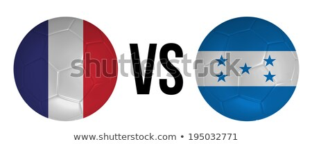 FRANCE vs HONDURAS Stock photo © smocker03