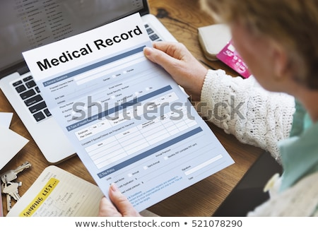 filling medical records  Stock photo © OleksandrO