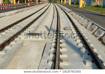 Tracks to the mast Stock photo © olandsfokus