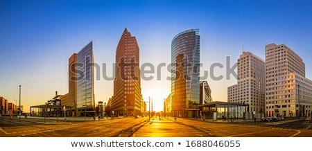 Potsdamer platz, Berlin Stock photo © joyr