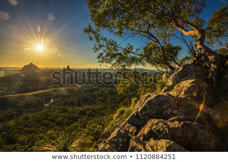 Glasshouse Rocks Australia Stock photo © lovleah