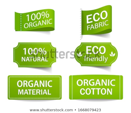 eco tags Stock photo © oblachko
