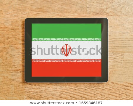 Tablet with Iran flag Stock photo © tang90246