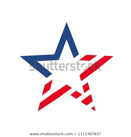 america USA stars and stripes flag stylized  Stock photo © Melvin07