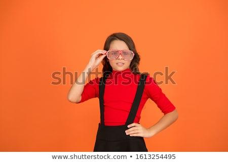 pompás · táncos · káprázatos · nő · okos · ruha - stock fotó © stockyimages