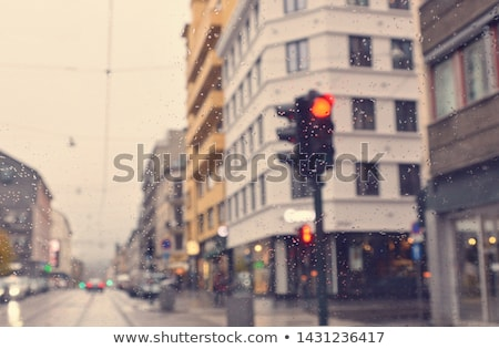 overcast urban landscape Stock photo © artfotoss