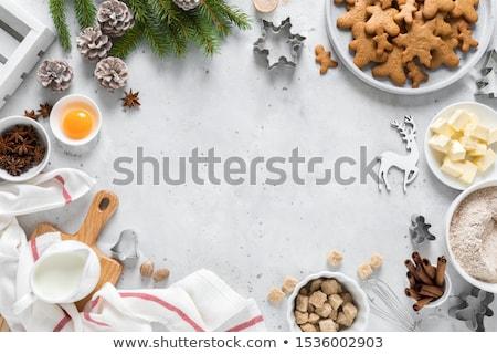 görmek · yumurta · mutfak · araçları · tablo · bahar - stok fotoğraf © hasloo
