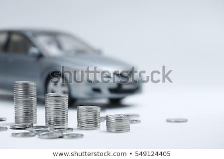 auto · geld · speelgoed · bankbiljetten · abstract · teken - stockfoto © cherezoff
