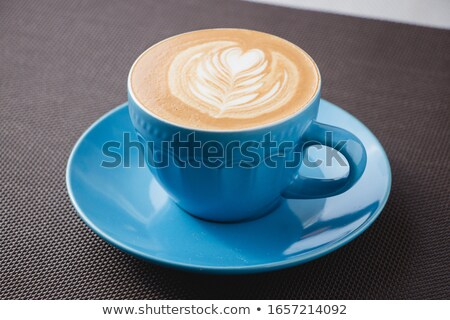 Cup with cappucino Stock photo © deandrobot