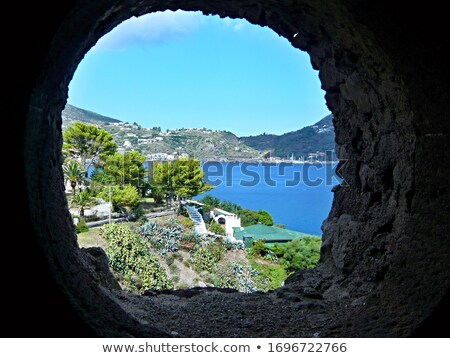 Lipari embankment Stock photo © Steffus