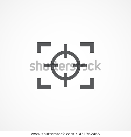 Focus icon sign Illustration stock photo © kiddaikiddee