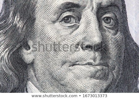 Close-up on Benjamin Franklin Stock photo © watsonimages