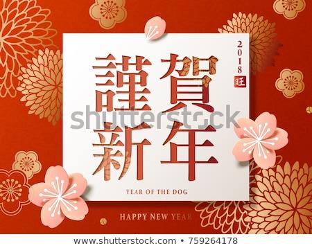 Foto stock: Crisantemo · primavera · belleza · color · rosa