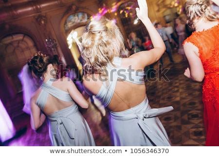 Stok fotoğraf: Emotional Moment Of Wedding Dance