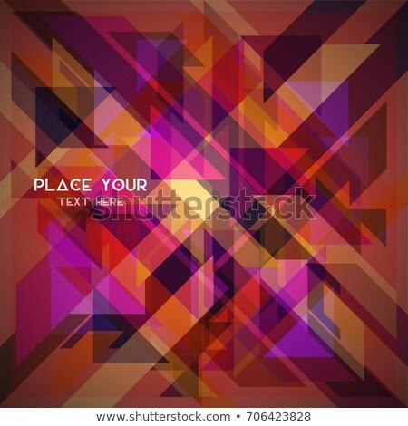 resumen · simple · geometría · figura · texto · logo - foto stock © Vanzyst