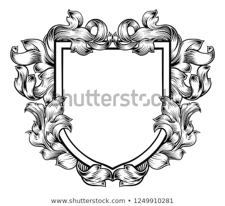 Illustration of vector medieval shields Stock photo © Decorwithme