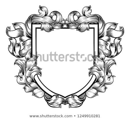 vetor · conjunto · medieval · ilustração · computador · coração - foto stock © decorwithme