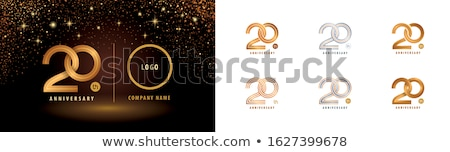 Stock photo: premium set of two christmas banners with golden and silver ball