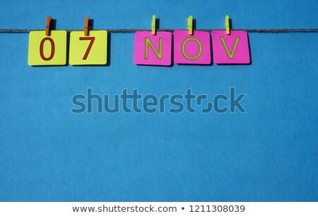 7th november stock photo © oakozhan